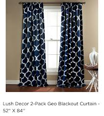 wayfair for special edition by lush decor geo blackout curtain panel great deals on all decor s with the best selection to choose from