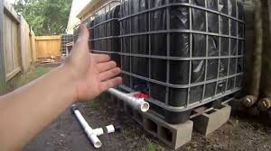 step 5 ibc rainwater harvesting system connecting and venting tanks youtube ibc water tank n2