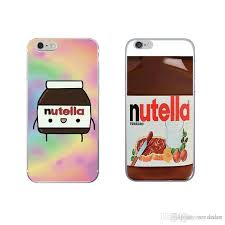 nutella wallpaper kawaii cute cell phone case cover for samsung s9 s8 plus s7 s6 edge opp bag customize phone cases mobile phone case from vendedor