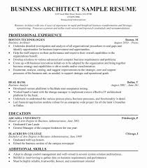 Architecture Resume Examples The Best Way To Write 847 Best Resume