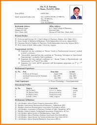 Wedding Resume Format Fresh Cover Letter Biodata Template Download