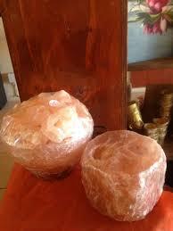 round bowl himalayan salt lamp