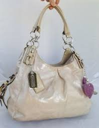 ... Coach-madison-Mia-Putty-Embossed-Shimmer-Leather-Maggie-