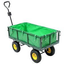 metal garden cart garden wagon cart garden carts and wagons utility outdoor yard lawn yard buggy metal garden cart