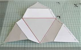 Triangle Star Fold Christmas Card Tutorial