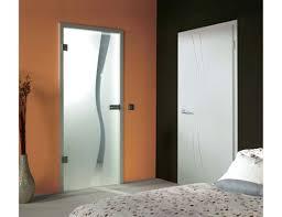 wave type 1 grooved glass door design frosted glass door
