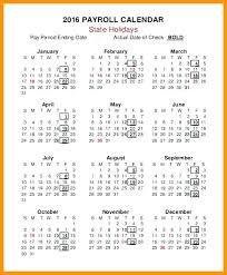 Payroll Calendar Template Classy Biweekly Payroll Calendar Template 48 Bi Weekly Pay