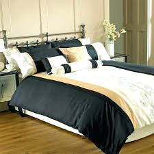 fashionable cream and gold comforter set excellent black bed sets home green cre