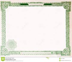 download stock certificate template old vintage stock certificate empty border 1914 stock photo
