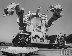 Robots primitivos en la guerra fría