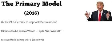 Image result for Professor Norpoth of Stoneybrook polling model