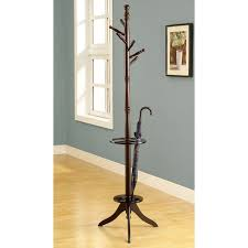 Adesso Umbrella Stand And Coat Rack Adesso Quatro Metal Standing Coat Rack and Umbrella Stand Hayneedle 89