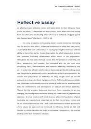 high school reflective essay examples awesome collection of  leadership interview paper janna kasmanian pepperdine high school reflective essay examples
