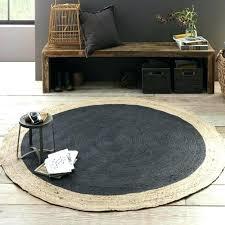 outdoor round jute rug outdoor jute rug bordered round jute rug slate west elm west elm