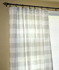 gray buffalo check curtains pair of grey buffalo check curtain panels ds french gray and white