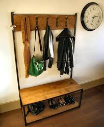 Coat Racks For Churches Fascinating Industrial Coat Rack Rustic Diy Dobai