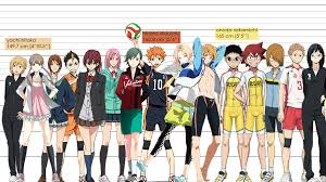 Haikyuu Height Chart Fab U Lous Max The Ultimate Height Chart Feat Time