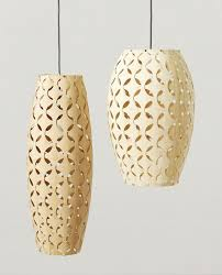 African Pendant Lights Wood Bamboo Pendant Lights African Furniture Decor