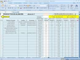 Inventario Excel 12 13 Formato De Inventario En Excel Ithacar Com