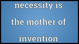 words essay on necessity the mother of invention