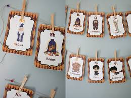 harry potter alphabet cards