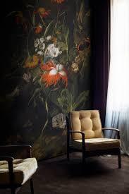 A 'Forest Floor' Still Life of Flowers Mural by Rachel Ruysch. Flower MuralInterior  WallsInterior ...