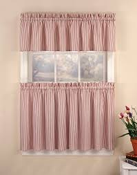 tier curtains for a characteristic style dry room ideas