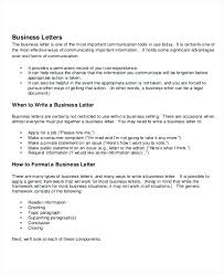 Business Header Format Iinan Co