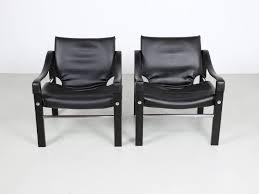 Maurice Burke Furniture Designer Black Chelsea Chair By Maurice Burke For Arkana 1stdibs