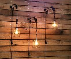 pull chain wall light fixture