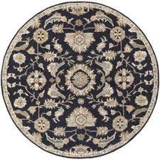 hanzei navy 8 ft x 8 ft round indoor area rug