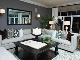 decorating idea family room. Home Decorating Ideas Living Room Colors Minimalist Layout Ornamental Rug Black Square Wooden Table Candle Holder Idea Family C