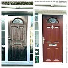 front door glass cover entry insert kit repair window doo