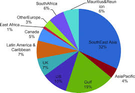 Pie Chart Of Population In India Diaspora Development And The Indian State The Round Table