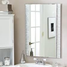 Brushed Nickel Bathroom Cabinet Bathroom Contemporary Vanity Bathroom Mirrors With Brushed Nickel