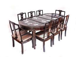 dining table with 8 chairs uk. black lacquered oriental dining table with 8 chairs. dining table with chairs uk