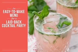 Party Cocktails On A Budget