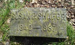 Susan Priscilla Bowen Shafor (1840-1887) - Find A Grave Memorial
