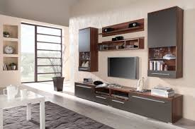Furniture:Minimalist Living Room With Modern Storage Wall Unit Fits In  White Tone With Tv