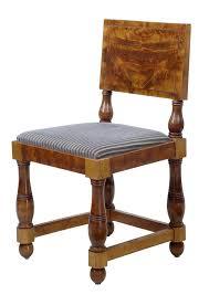 Art deco period furniture Contemporary Set Of Art Deco Period Pine Dining Chairs 2 Of 5 Antonios Bella Casa Set Of Art Deco Period Pine Dining Chairs Ea1306 La42899