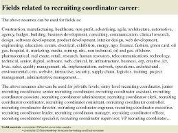 Sample Cover Letter For Recruiter Job Staffing Recruiter Cover