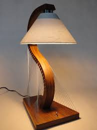 bedside lamp by robby cuthbert