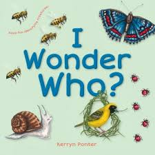 i wonder who is a sweet short story about the world around us the book is targeted at toddlers who are learning the names of s what they are about