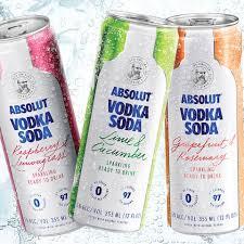 absolut vodka absolut cans