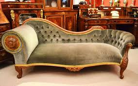 victorian chaise lounge. Antique Victorian French Walnut Chaise Longue C.1860 Lounge N
