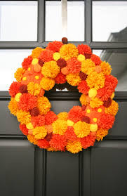 Furniture Accessories:Cool Diy Fall Wreath Decor Idea Door Beautiful DIY  Fall Wreath Ideas