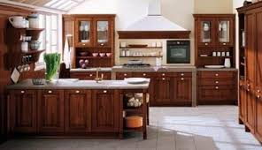 Lovely Modern Modular Beech Solid Wood Kitchen Cabinet Image