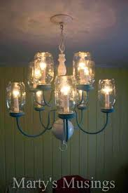 how to make a chandelier with mason jars have some extra mason jars and an outdated