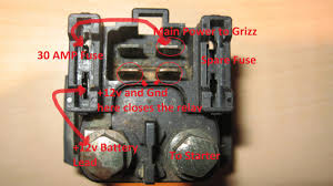 starter relay solenoid 101 yamaha grizzly atv forum click image for larger version relay jpg views 28961 size 92 4