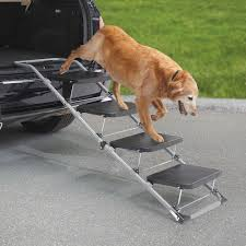 fabulous portable stairs home painted in grey created to help the dog walking down from the car could be placed at outdoor porch